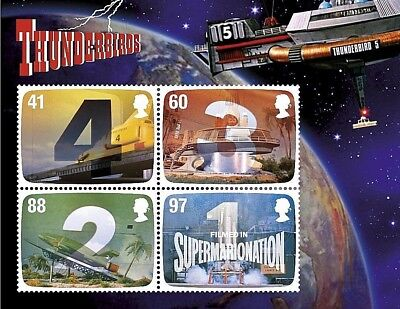GB Stamps 2011 'Gerry Anderson - Thunderbirds' sg MS3142 - U/M