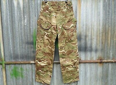 """New British Army Issue Mtp Camo Warm Weather Combat Trousers 80/80/96 30""""w 31""""l"""