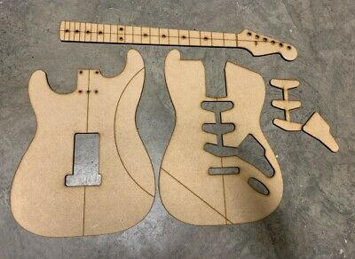 60 S Style Strat Luthier Routing Building Templates Eur 52 86