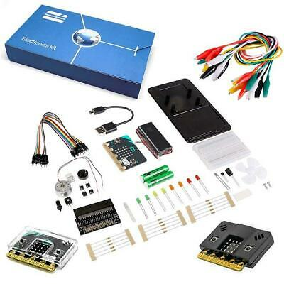 Inventors Kit for BBC micro:bit with 10 Experiments includes micro:bit with case