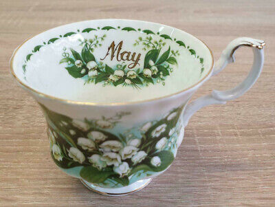 Royal Albert Flower of the Month May Lily of The Month Teetasse