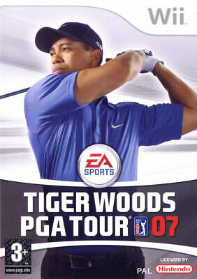 Tiger Woods PGA Tour 07 | Wii Used