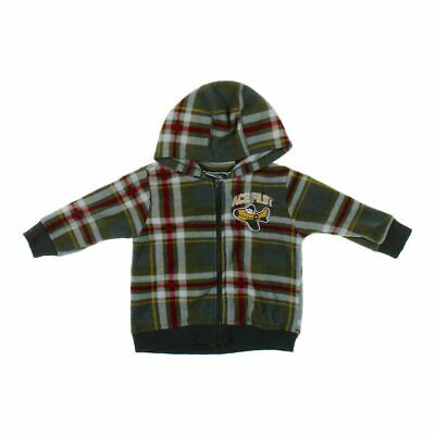 Little Rebels Baby Boys  Hoodie, size 18 mo,  green,  polyester