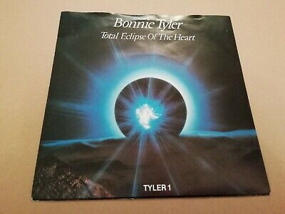 """Bonnie Tyler * Total Eclipse Of The Heart * 7"""" Single P/s Excellent 1983"""