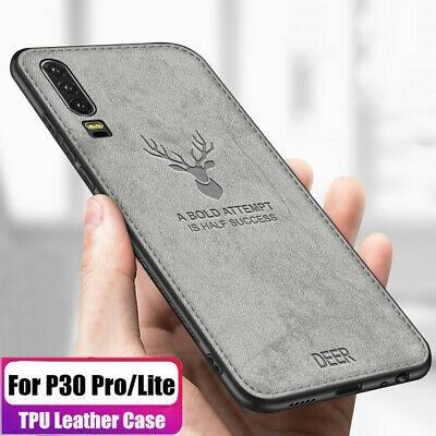 Shockproof Hybrid Silm Fabric Soft TPU Bumper Case Cover For Huawei P30 Pro Lite
