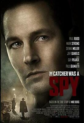 The Catcher Was a Spy (2018), DVD USED, DISC ONLY. GOOD CONDITION.