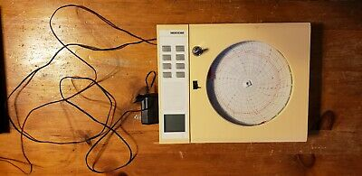 "Dickson Ktx C412 Chart Recorder 8"" W Dc Power Supply"