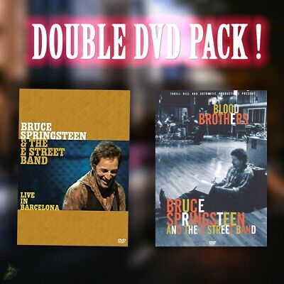 Bruce Springsteen Double Music DVD pack (3 discs) - LIKE NEW CONDITION.