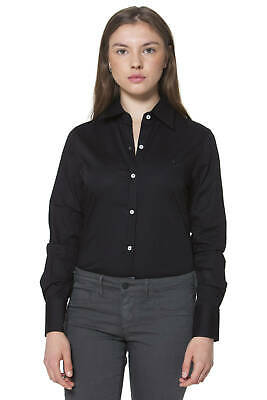 Fred Perry Camicia Nero 9102 Donna Woman 31202149 Shirt 8052408489989