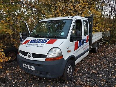 2007 Renault Master Ll35 Dci 100 Lwb Double Cab Tipper