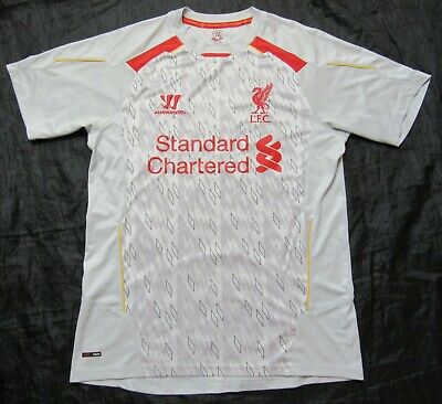 The Reds FC LIVERPOOL Training shirt jersey Warrior 2013-14 trikot adult SIZE  M