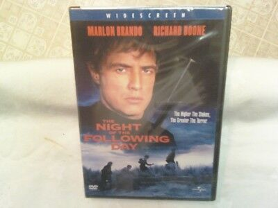 The Night Of The Following Day (DVD, 2003) - FACTORY SEALED!