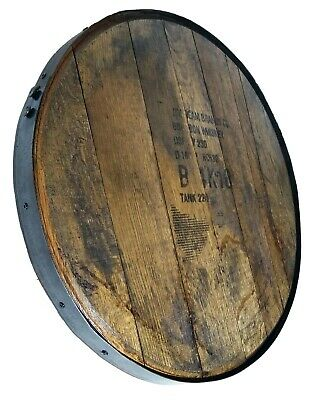 Bourbon Barrel Head with Ring - Display Piece!! 100% Authentic- Makers, Beam,etc