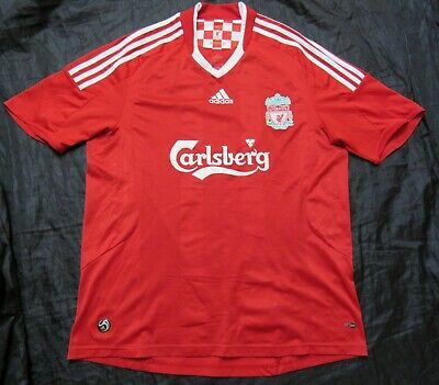 The Reds FC LIVERPOOL home shirt jersey by ADIDAS 2008-2010 trikot adult SIZE L
