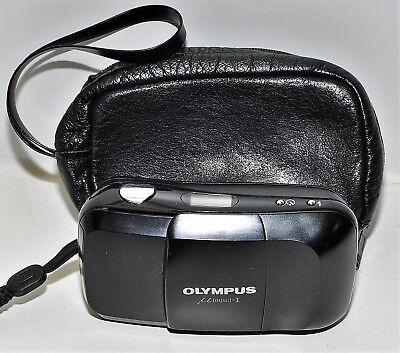 Olympus mju1; 35mm f/3,5; point & shoot; guter Zustand