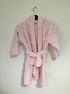 Girls Next Pink Dressing Gown Robe Age 5-6