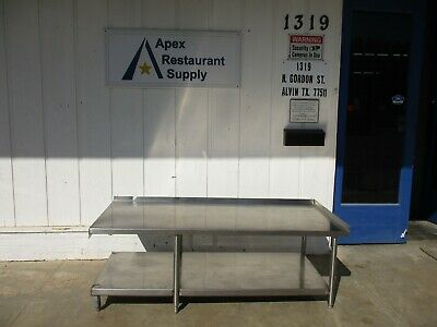 Stainless Steel Commercial Restaurant Equipment Stand - 71 x 30 x 24 #4055