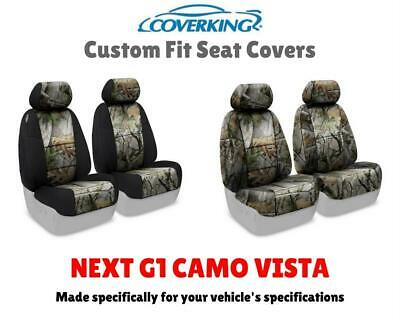 NEXT G1 VISTA CAMO CUSTOM FIT SEAT COVERS for NISSAN LEAF