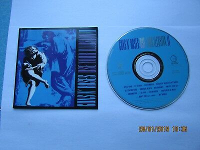 Guns N Roses  Use Your Illusion 2 Cd & Cover Only