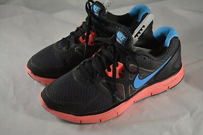 ac020a0db1657 WOMENS NIKE LUNARGLIDE 3 Black Pink Blue Running Shoes Size 8 US 39 ...