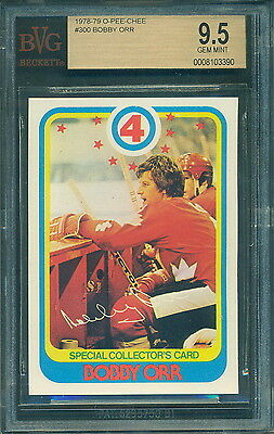 Bvg Bgs 9.5 1978 79 Opc #300 Bobby Orr Special Collector's Card Gem Mint!!