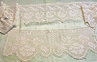 Vintage Lot Of Antique French Country Farmhouse Trim, Shelves, Mantle, Valance