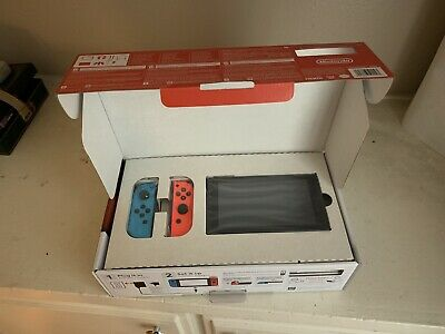Nintendo Switch 32GB Console with Neon Blue and Neon Red Joy-Con Brand New