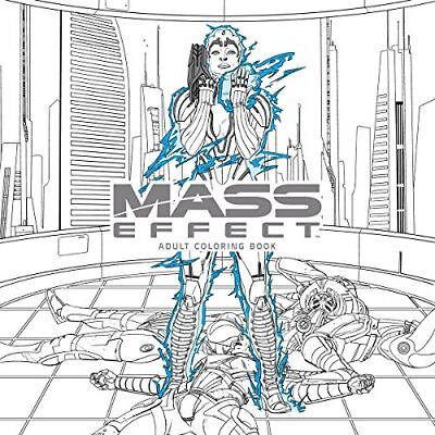 NEW - Mass Effect Adult Coloring Book by Bioware
