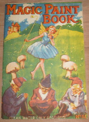 Magic Paint Book by Renwick Magical Painting Series no.54 Collectable Vintage