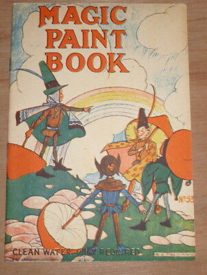 Magic Paint Book by Renwick Magical Painting Series no.53 Collectable Vintage