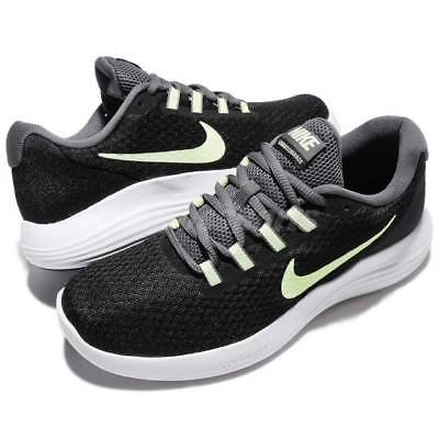 4d98a9864 Nike Lunarconverge Women's Running Training Shoes Sneakers Black Barely Volt  10