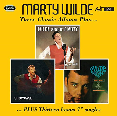 Marty Wilde-Three Classic Albums Plus CD NEW