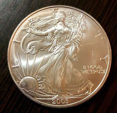 2003 Silver American Eagle One Dollar Coin