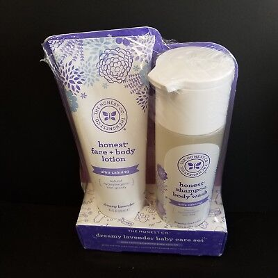 Dreamy Lavender Baby Care Set Honest Co Shampoo+Body Wash&Ultra Calming (CL1390)