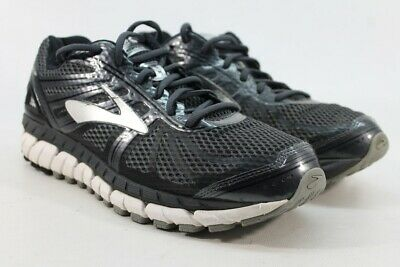 5a137823765 BROOKS BEAST 18 4E Extra Wide Grey Navy White Men Running Shoes ...