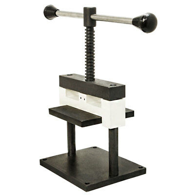 """Jeweler Metal Cutting Punch Manual Press Working Area 5-1/2"""" x 4"""" x 4"""" 2mm Thick"""