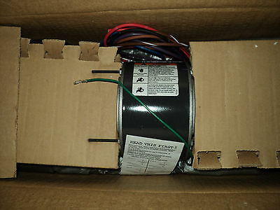 DAYTON 4M020 Motor, 1/8 HP, 1075 RPM , 230 V , 48YZ FR , 3 SPEED , FOR  Room Air