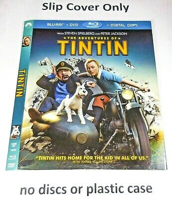 The Adventures of Tintin - Slip Cover Only (no blu ray / dvd) Tin Tin