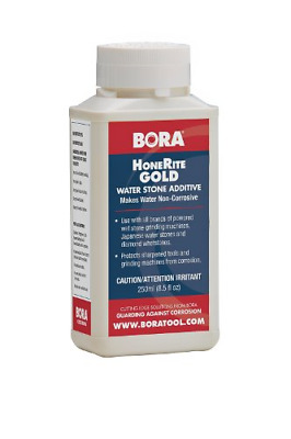 HoneRite Gold BORA STN-HRG250 250ml Honing Solution. The Grinding/Sharpening is