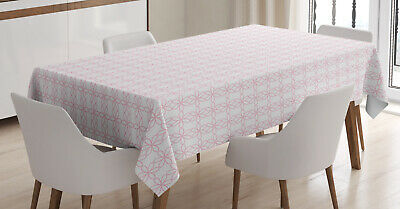 Floral Patterns Tablecloth Ambesonne 3 Sizes Rectangular Table Cover Decor