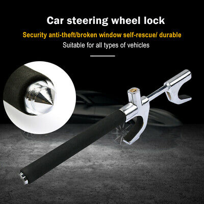 Anti Theft Security System Steering Wheel Lock Vehicle Car Truck SUV Auto Tool