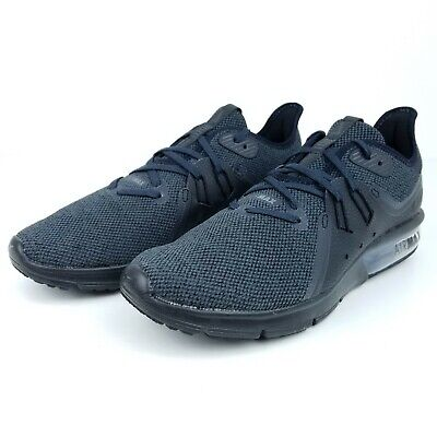 c61e67fc49c Nike Air Max Sequent 3 Mens Running Shoes Black Anthracite 921694-010 NIB  Size