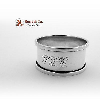Napkin Ring Sterling Silver Towle 1940