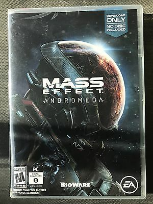 🔫Brand New!!! Mass Effect: Andromeda(PC, 2017) D/load Only!! Factory Sealed!!🔫