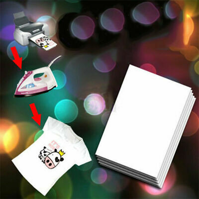 50 sheets A4 Iron Heat Transfer Paper Fr The Dark T-shirt Cup & Hat & Phone Case