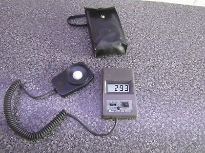 Lt Lutron Lx-101 Digital Lux Meter - No Instructions Checked And Working
