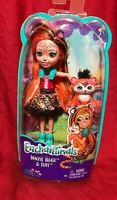 Enchantimals TANZIE TIGER & TUFT FIGURE- BRAND NEW Doll