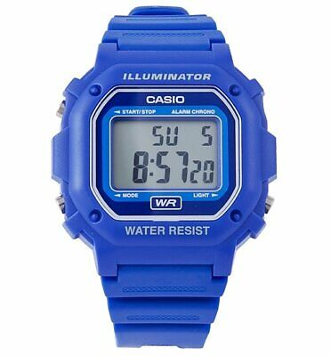 Official Blue Retro Illuminator Watch F-108WH-2AEF from Casio