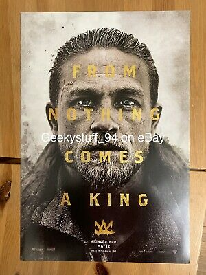 King Arthur Legend Of The Sword Movie Poster 11x17