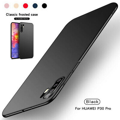 Luxury Shockproof Matte Silicone Soft TPU Case Cover For Huawei P30 Pro Y9 2019
